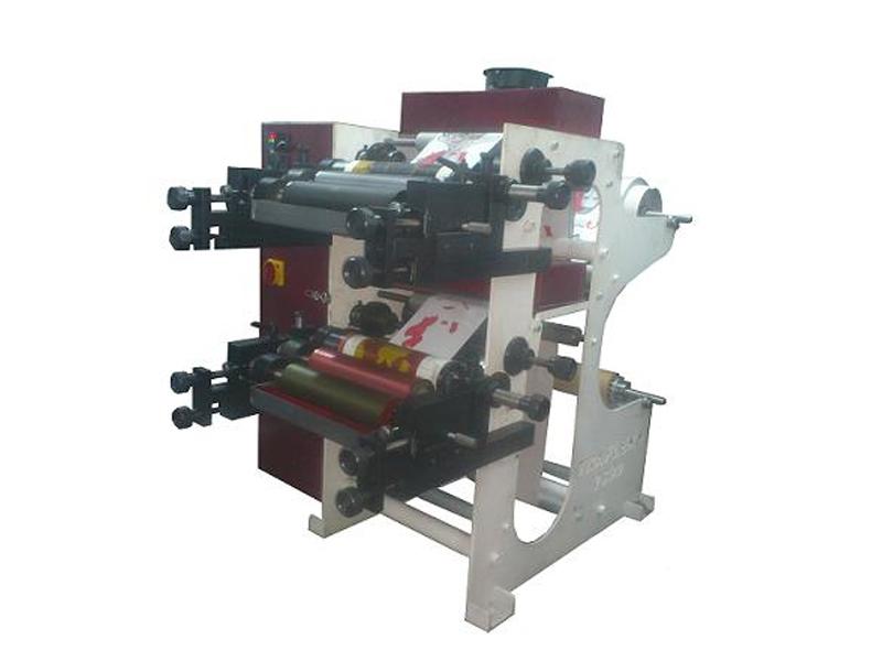Renk flexo baskı makineleri 2 renk flexo baskı makinesi
