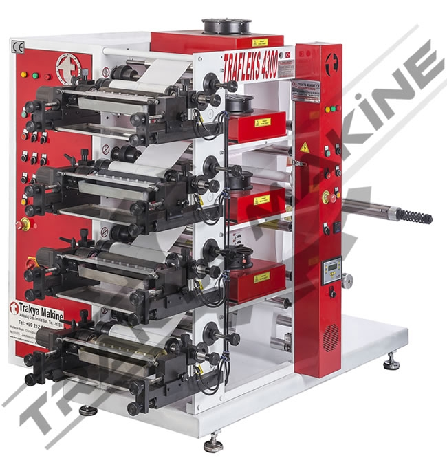 4 Color Flexo Printing Machine / 4 Color Flexo Printing Machine
